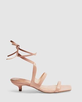 Topshop Narla Strap Mini Heels