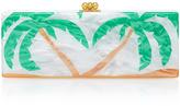 Edie Parker Flavia palms clutch