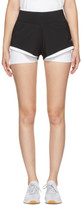 adidas by Stella McCartney Black and White Climachill Utlimate Training Shorts
