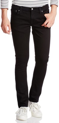 Nudie Jeans Women's Tight Long John Jean in Black Black