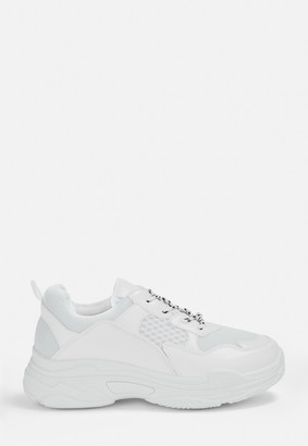 Missguided White Chunky Trainers