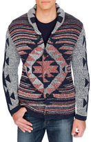 Lucky Brand Tribal Print Sweater