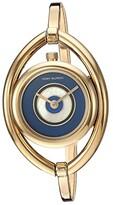 Tory Burch Evil Eye Bangle Watch (Gold - TBW5000) Watches
