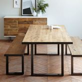 west elm Industrial Oak + Steel Dining Table