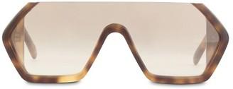 Courreges Mask Ski sunglasses