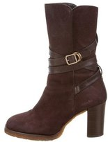 Tory Burch Nubuck Ankle Boots
