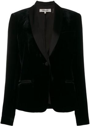 Dvf Diane Von Furstenberg Halzie velvet blazer