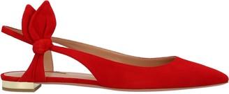 Aquazzura Drew Flat Slingback Flat Shoes