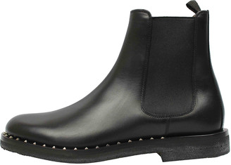 Valentino Black Leather Boots
