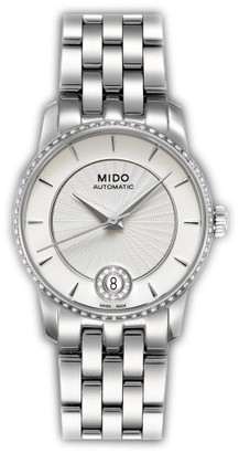 MIDO Women's Automatic Watch M0072076103600 with Metal Strap