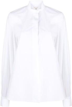 Alexandre Vauthier Tuxedo Collar Long-Sleeved Shirt