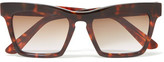 Ellery D-Frame Tortoiseshell Acetate Sunglasses