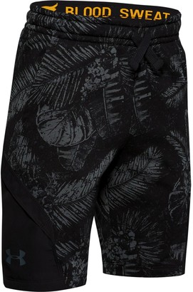 Under Armour Boys' Project Rock Terry Shorts