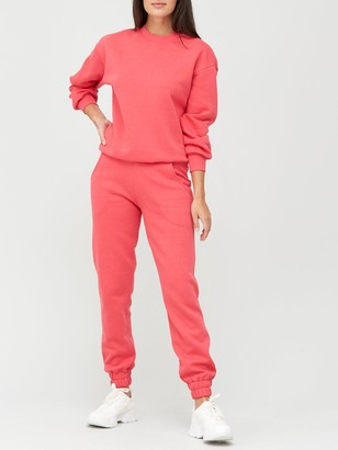 Very Oversized Joggers - Pink
