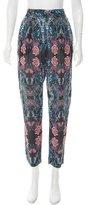 Zimmermann Floral High-Rise Pants