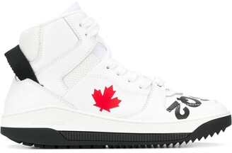 DSQUARED2 Barkley high-top sneakers