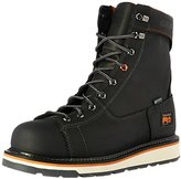 """Timberland Men's Gridworks 8"""" Alloy Safety-Toe Waterproof Industrial and Construction Shoe"""