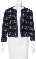Magaschoni Long Sleeve Printed Jacket