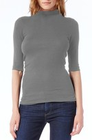 Michael Stars Women's Funnel Neck Top