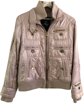 Fay Pink Synthetic Coats