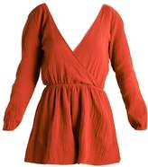 The Fifth Label SWEET DISPOSITION Jumpsuit burnt red