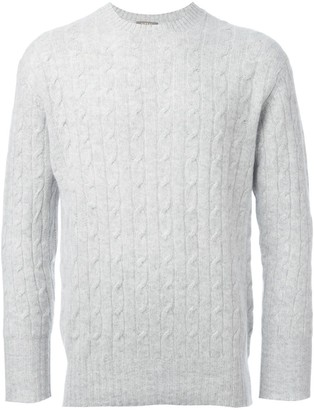 N.Peal 'The Thames' cable knit jumper
