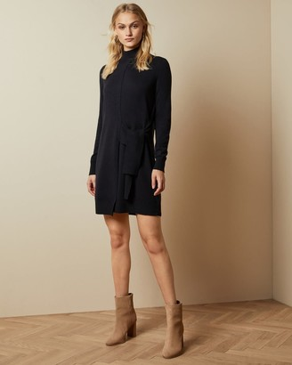 Ted Baker Tie Detail Knitted Dress