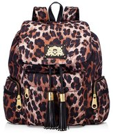 Juicy Couture Malibu Nylon Plaque Backpack