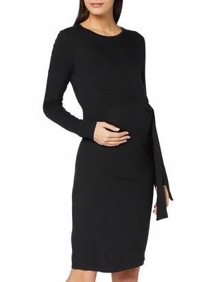 Mama Licious Mamalicious Women's MLONA L/S Jersey Dress A. BF