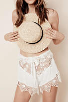 For Love & Lemons Caracas Lace Shorts