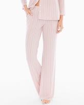 Soma Intimates Pajama Pants Finespun Stripe Pink TL