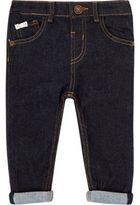 River Island Mini boys dark wash skinny jeans