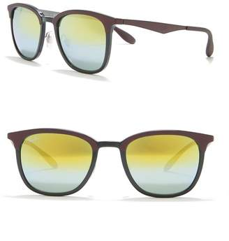 Ray-Ban 51mm Injected Square Sunglasses