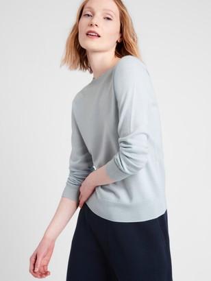 Banana Republic Seamless Merino Crew Sweater-Neck Sweater in Responsible Wool