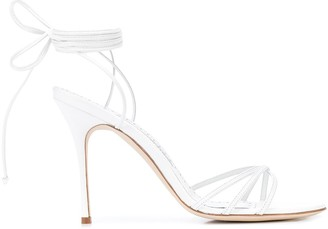 Manolo Blahnik Leva 110mm lace-up sandals