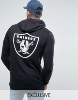 Majestic Raiders Longline Hoodie Exclusive to ASOS
