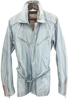Prada Blue Synthetic Jackets