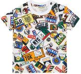 Kenzo Badge-Print Cotton T-Shirt