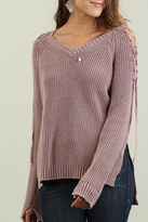 Umgee USA Mineral Washed Sweater