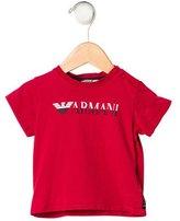 Armani Junior Boys' Logo Short Sleeve T-Shirt