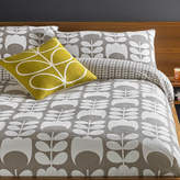 Orla Kiely Tulip Flannel Duvet Cover - Mushroom - Super King