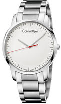 Calvin Klein City Stainless Steel Bracelet Watch, K2G2G1Z6