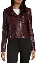 Vigoss Faux Leather Jacket-Juniors