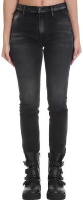 Marcelo Burlon County of Milan Jeans In Black Denim