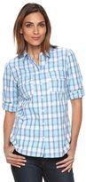 Apt. 9 Women's Croft & Barrow® Roll-Tab Shirt
