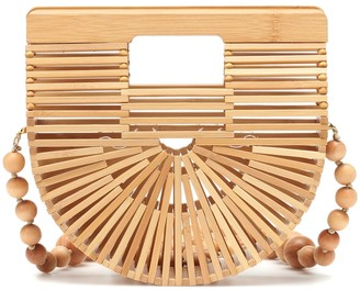 Cult Gaia Ark bamboo shoulder bag