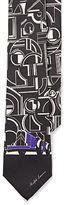 Ralph Lauren Purple Label Art Deco Silk Twill Tie