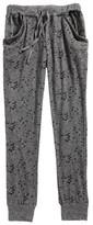 T2 Love Girl's Hachi Print Jogger Pants
