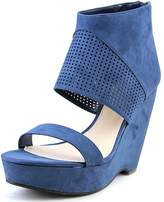 Bar III Siren Women US 7 Blue Wedge Heel