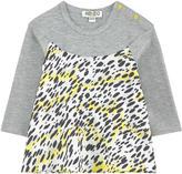 Kenzo Bi-material T-shirt